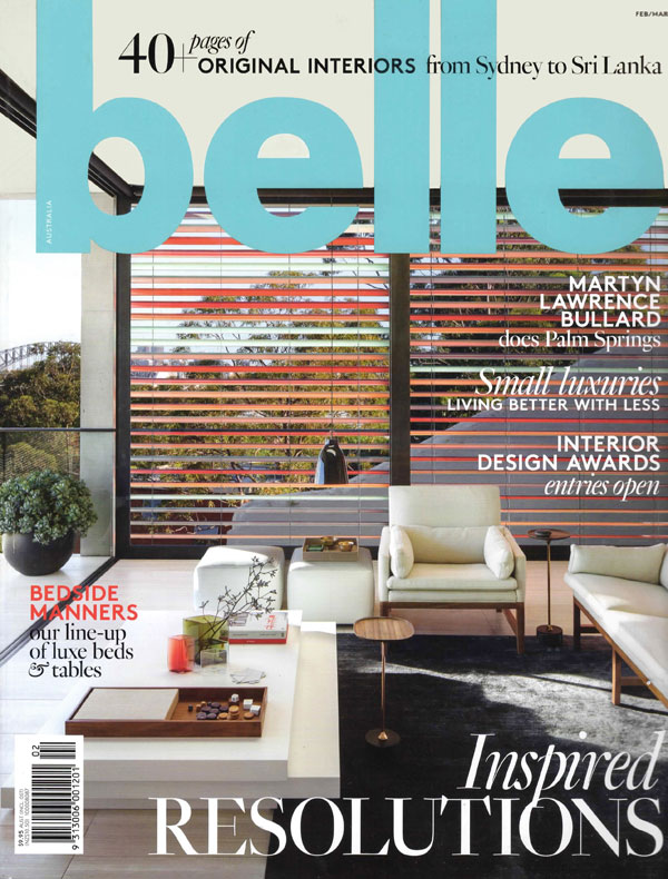 Belle feature - Feb/March issue